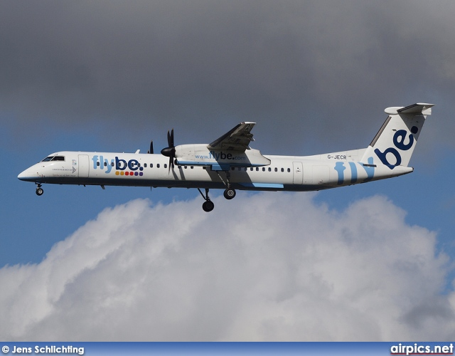 G-JECR, De Havilland Canada DHC-8-400Q Dash 8, flybe.British European