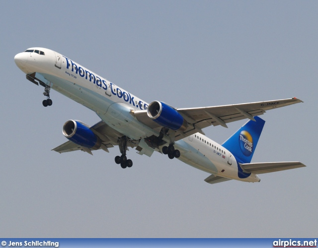 G-JMCF, Boeing 757-200, Thomas Cook Airlines
