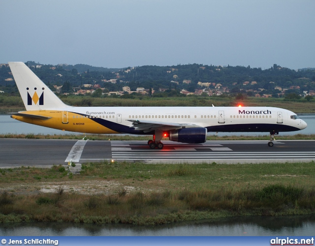 G-MONB, Boeing 757-200, Monarch Airlines