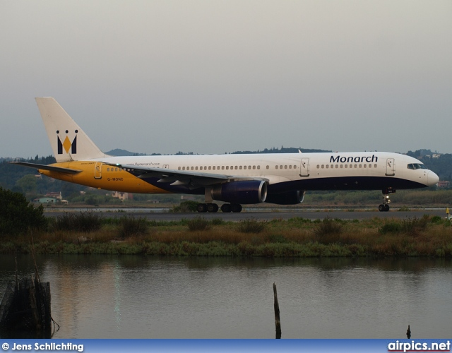 G-MONC, Boeing 757-200, Monarch Airlines