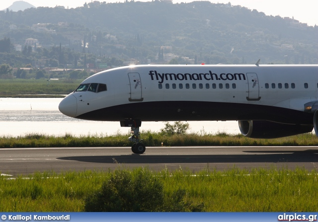 G-MONK, Boeing 757-200, Monarch Airlines