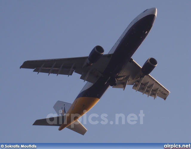 G-OJMR, Airbus A300B4-600R, Monarch Airlines