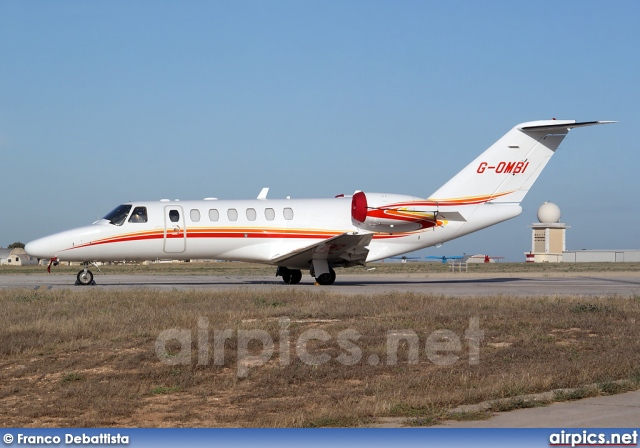 G-OMBI, Cessna 525-B Citation CJ3, Private