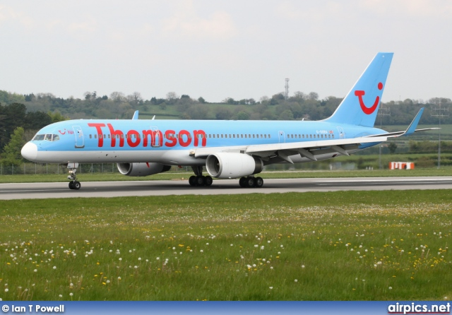 G-OOBA, Boeing 757-200, Thomson Airways