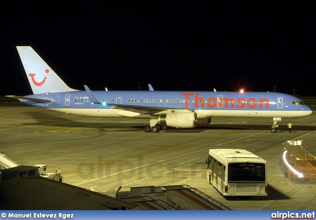 G-OOBF, Boeing 757-200, Thomson Airways