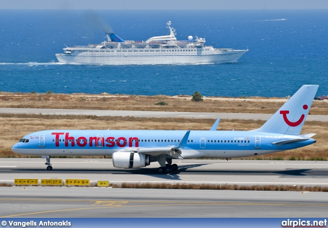 G-OOBH, Boeing 757-200, Thomson Airways