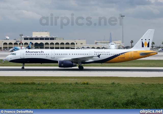 G-OZBM, Airbus A321-200, Monarch Airlines