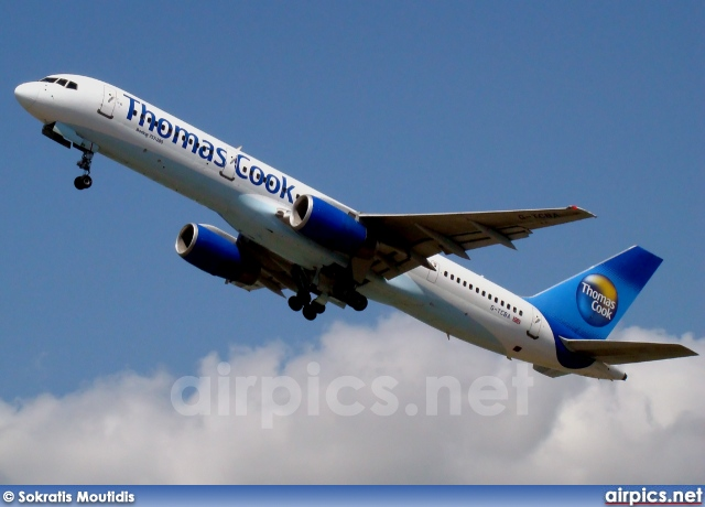 G-TCBA, Boeing 757-200, Thomas Cook Airlines
