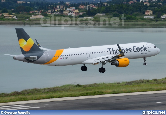 G-TCDM, Airbus A321-200, Thomas Cook Airlines