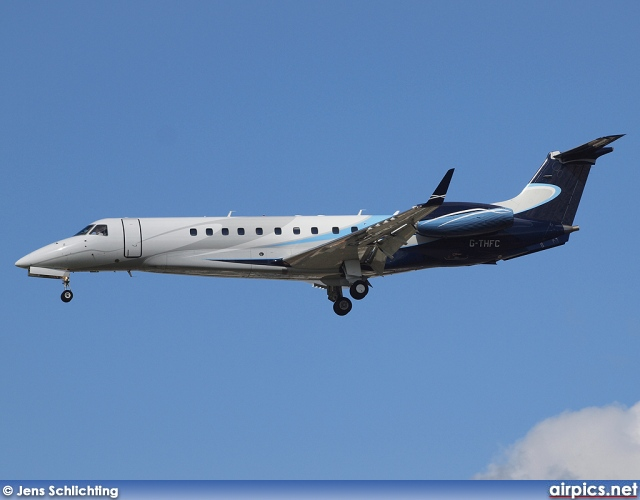G-THFC, Embraer Legacy, London Executive Aviation