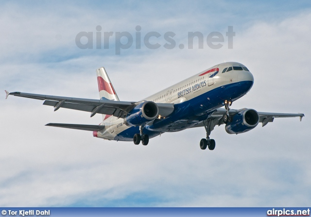 G-TTOB, Airbus A320-200, British Airways