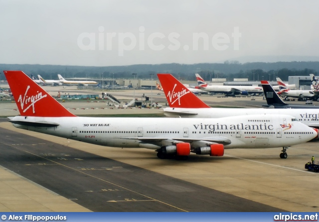 G-VJFK, Boeing 747-200B, Virgin Atlantic