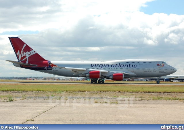 G-VROC, Boeing 747-400, Virgin Atlantic
