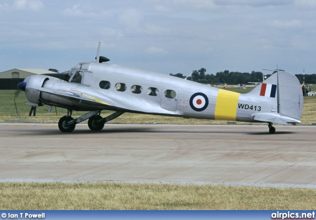 G-VROE, Avro Anson T21, Air Atlantique