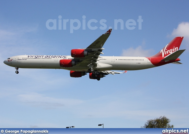 G-VWEB, Airbus A340-600, Virgin Atlantic