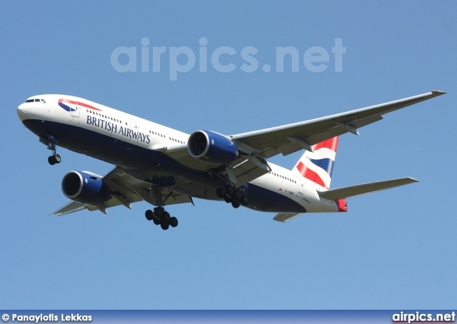 G-YMMT, Boeing 777-200ER, British Airways