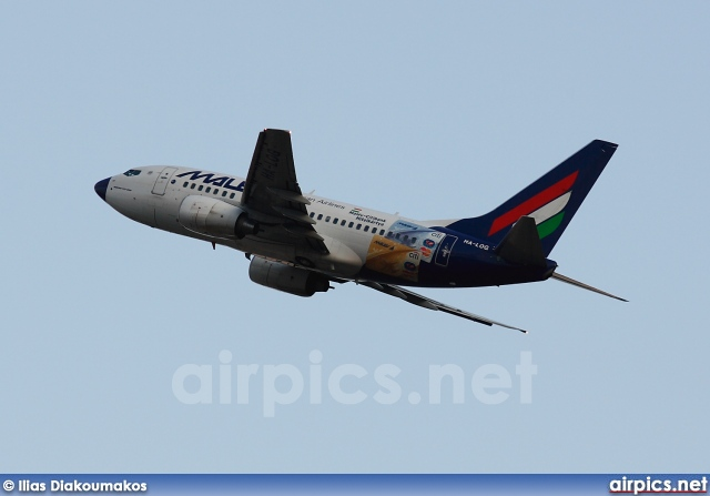 HA-LOG, Boeing 737-600, MALEV Hungarian Airlines