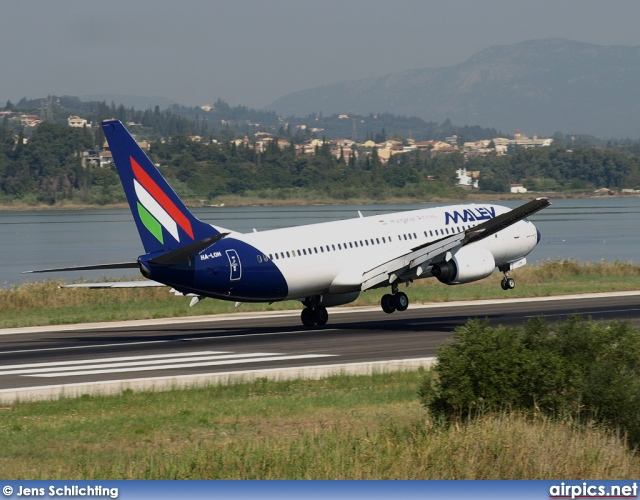HA-LOH, Boeing 737-800, MALEV Hungarian Airlines