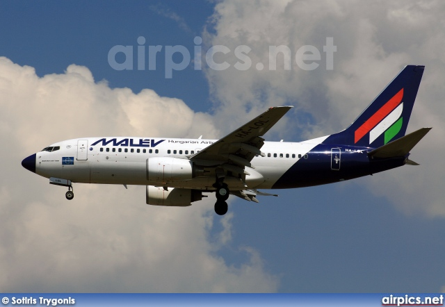 HA-LOL, Boeing 737-700, MALEV Hungarian Airlines