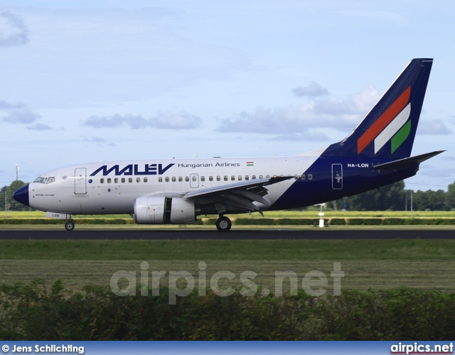 HA-LON, Boeing 737-600, MALEV Hungarian Airlines