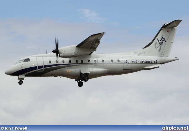 HB-AES, Dornier  328-110, Skywork Airlines