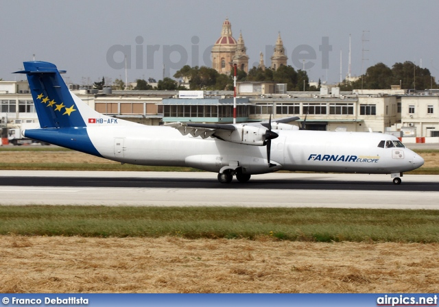 HB-AFK, ATR 72-200, Farnair Europe