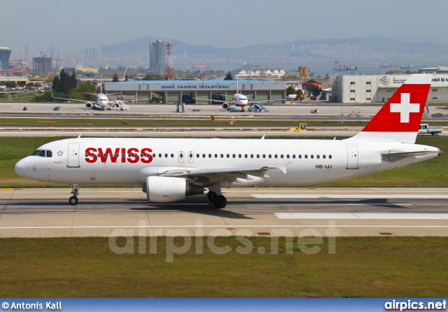 HB-IJJ, Airbus A320-200, Swiss International Air Lines