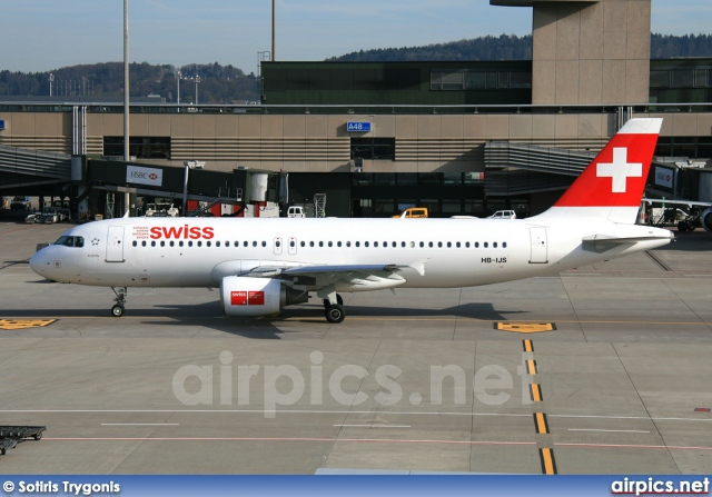 HB-IJS, Airbus A320-200, Swiss International Air Lines