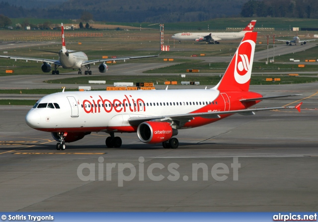 HB-IOQ, Airbus A320-200, Air Berlin