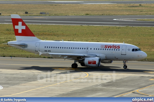 HB-IPX, Airbus A319-100, Swiss International Air Lines