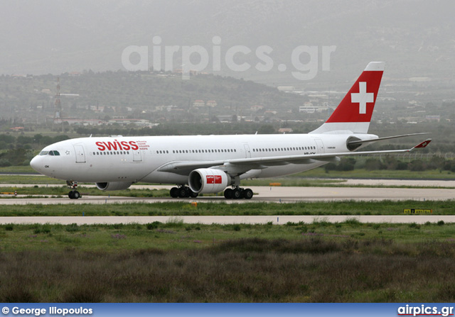 HB-IQK, Airbus A330-200, Swiss International Air Lines