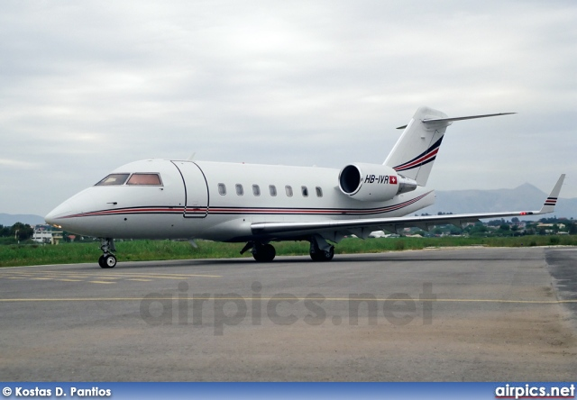 HB-IVR, Bombardier Challenger 600-CL-604, Private