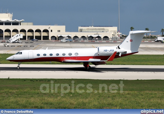HB-JKB, Gulfstream V-SP, Private
