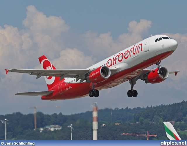 HB-JOZ, Airbus A320-200, Air Berlin