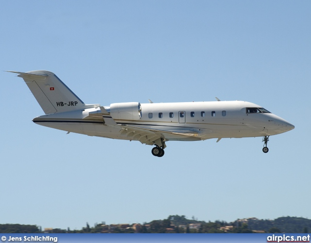 HB-JRP, Bombardier Challenger 600-CL-605, Comlux Aviation