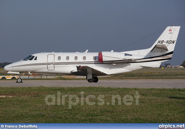 HB-VON, Cessna 560-Citation XLS, Private