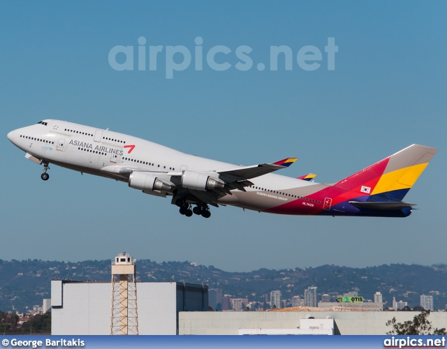 HL7428, Boeing 747-400, Asiana Airlines