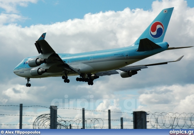 HL7460, Boeing 747-400, Korean Air