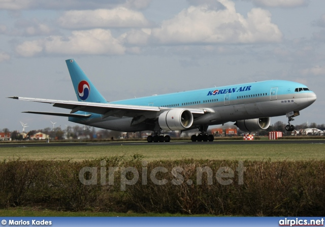 HL7765, Boeing 777-200ER, Korean Air