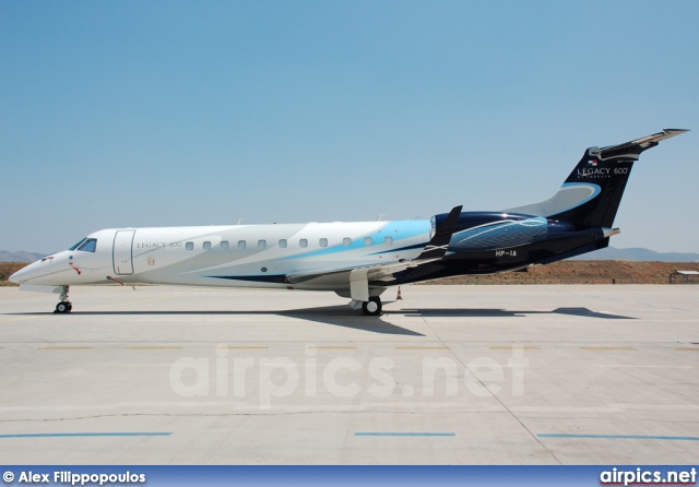 HP-1A, Embraer ERJ-135BJ Legacy, Private
