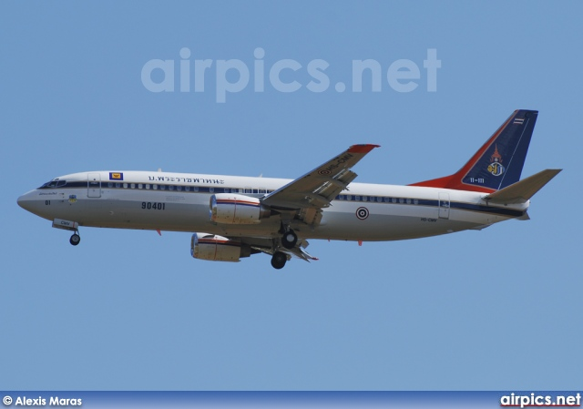 HS-CMV, Boeing 737-400, Royal Thai Air Force