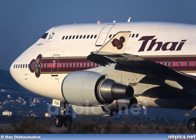 HS-TGK, Boeing 747-400, Thai Airways