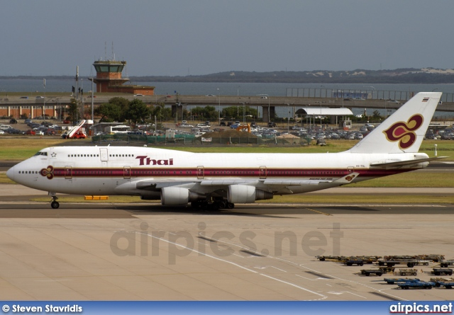 HS-TGL, Boeing 747-400, Thai Airways