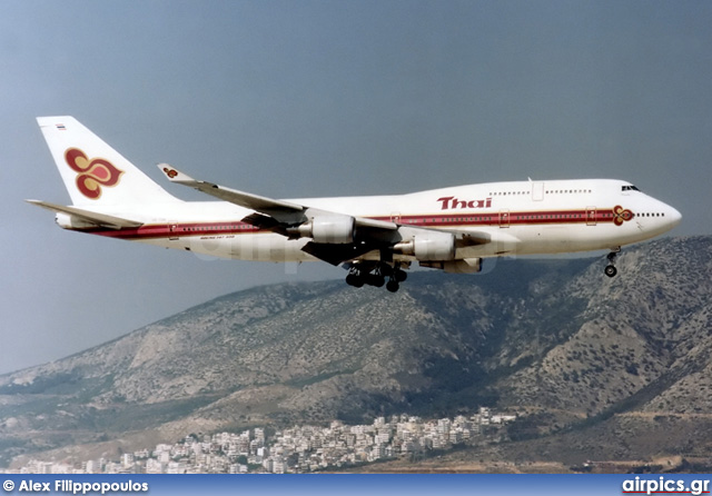 HS-TGN, Boeing 747-400, Thai Airways