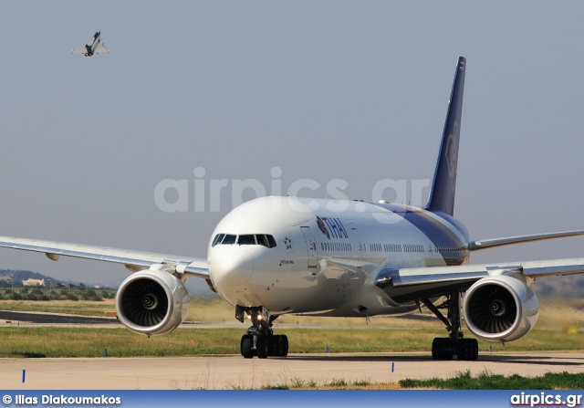 HS-TJT, Boeing 777-200ER, Thai Airways