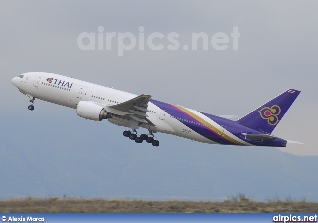 HS-TJV, Boeing 777-200ER, Thai Airways