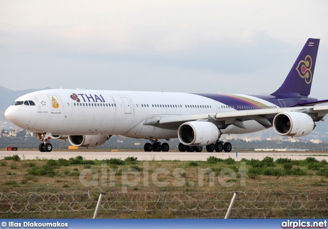 HS-TLA, Airbus A340-500, Thai Airways