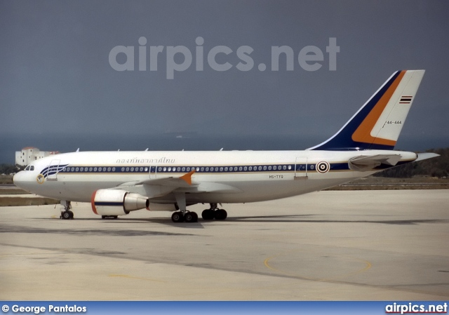 HS-TYQ, Airbus A310-300, Royal Thai Air Force