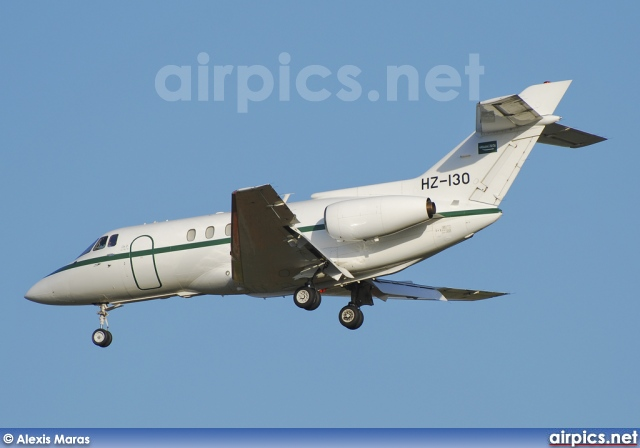 HZ-130, British Aerospace BAe 125-800B, Royal Saudi Air Force