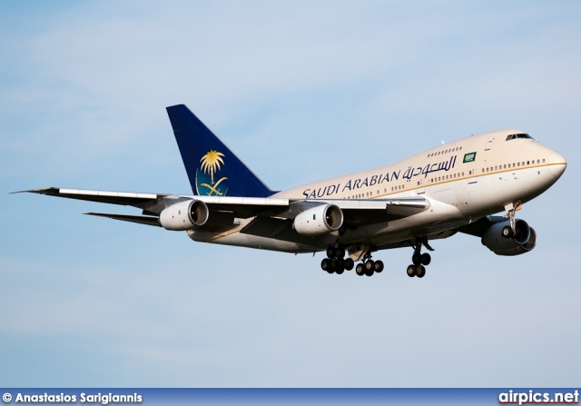 HZ-AIF, Boeing 747-SP, Saudi Arabian Royal Flight